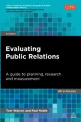 (ebook) Evaluating Public Relations
