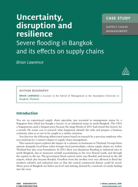 (ebook) Case Study: Uncertainty, Disruption and Resilience