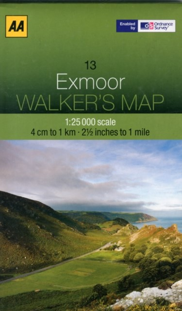 Aa Exmoor Walker's Map