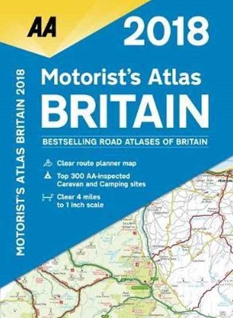 Motorist's Atlas Britain 2018