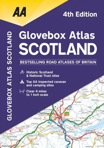 AA Glovebox Atlas Scotland
