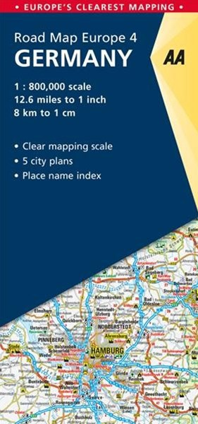 Aa Road Map Germany