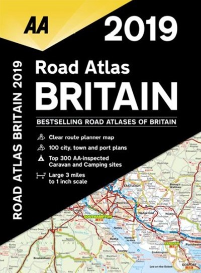 2019 Road Atlas Britain