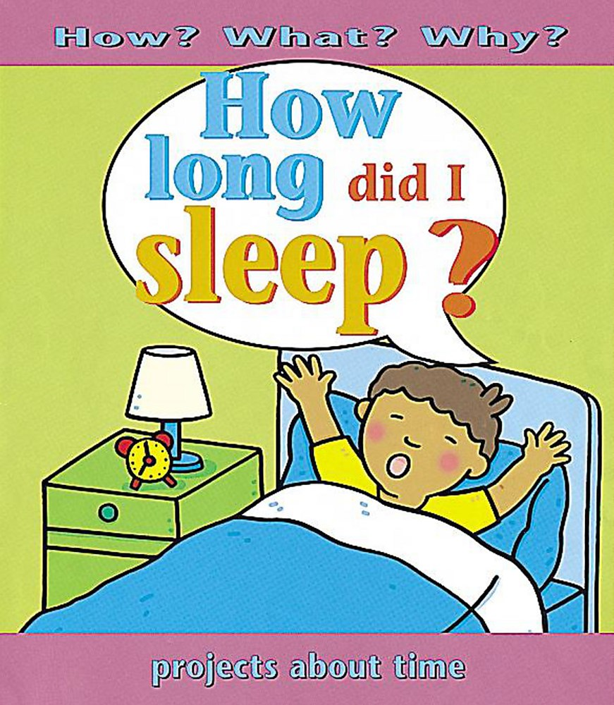 How What Why ?: How Long Did I Sleep?