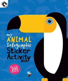 My Animal Infographic Sticker Activity Book