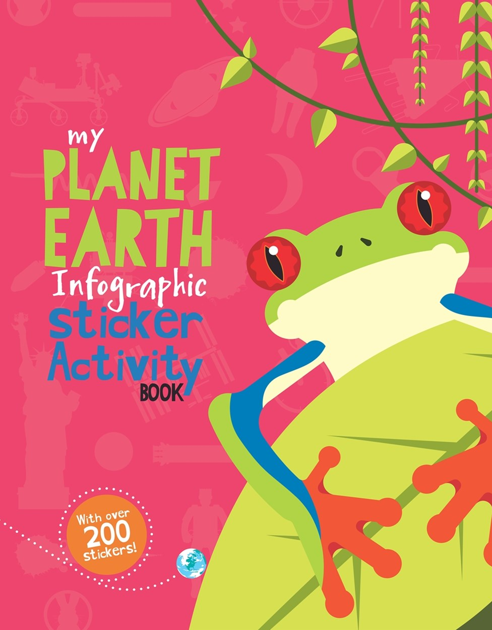 My Planet Earth Infographic Sticker Activity Book