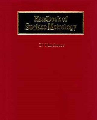 Handbook of Surface Metrology