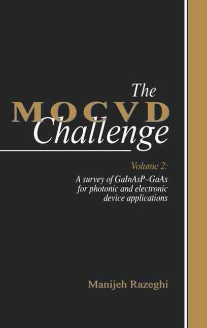 The MOCVD Challenge: A Survey of Gainasp-Gaas for Photonic and Electronic Device Applications