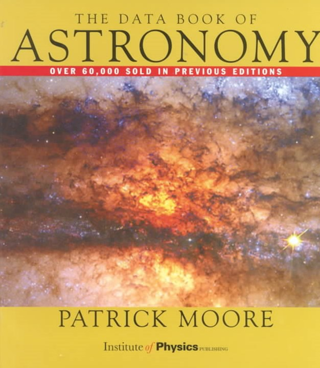Data Book of Astronomy