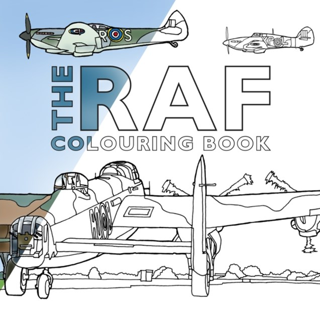 RAF Colouring Book