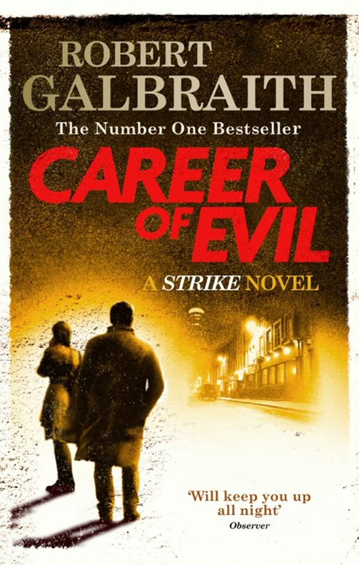 Career of Evil (Cormoran Strike, Book 3)
