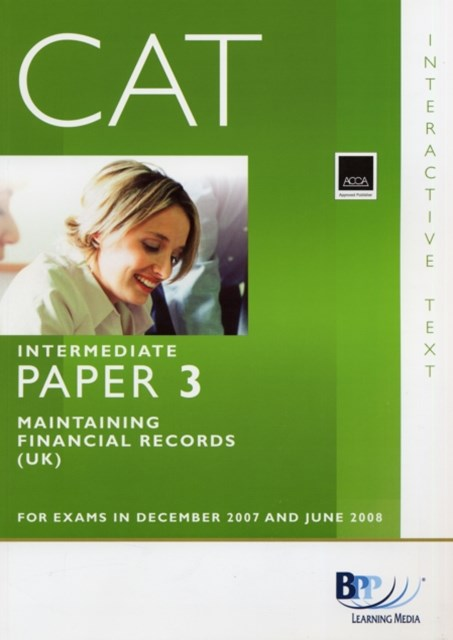 CAT - 3 Maintaining Financial Records
