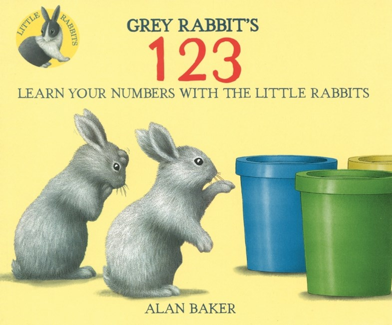 Little Rabbits: Grey Rabbit's 123