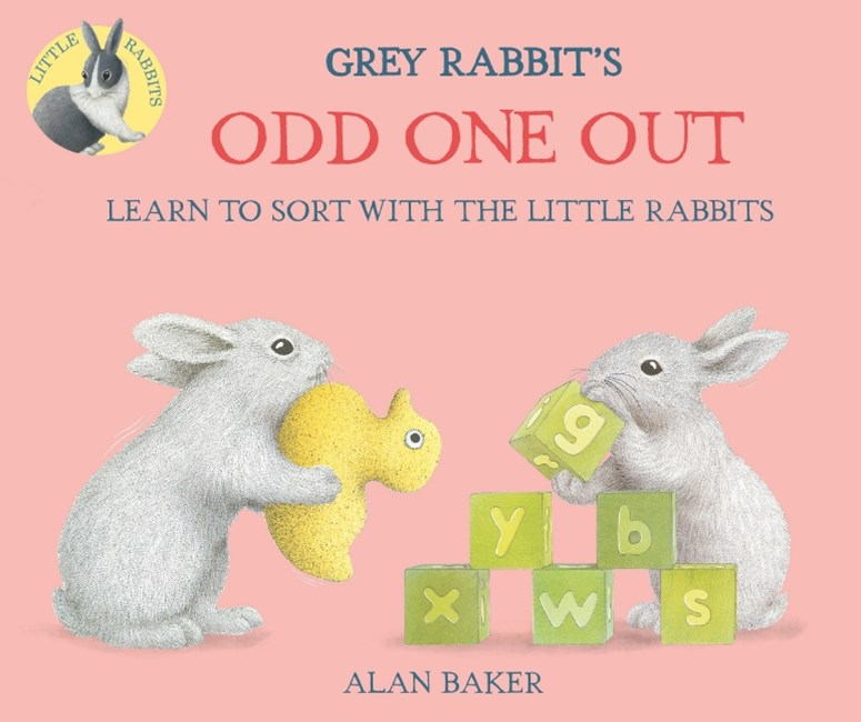 Little Rabbits: Gray Rabbit's Odd One Out