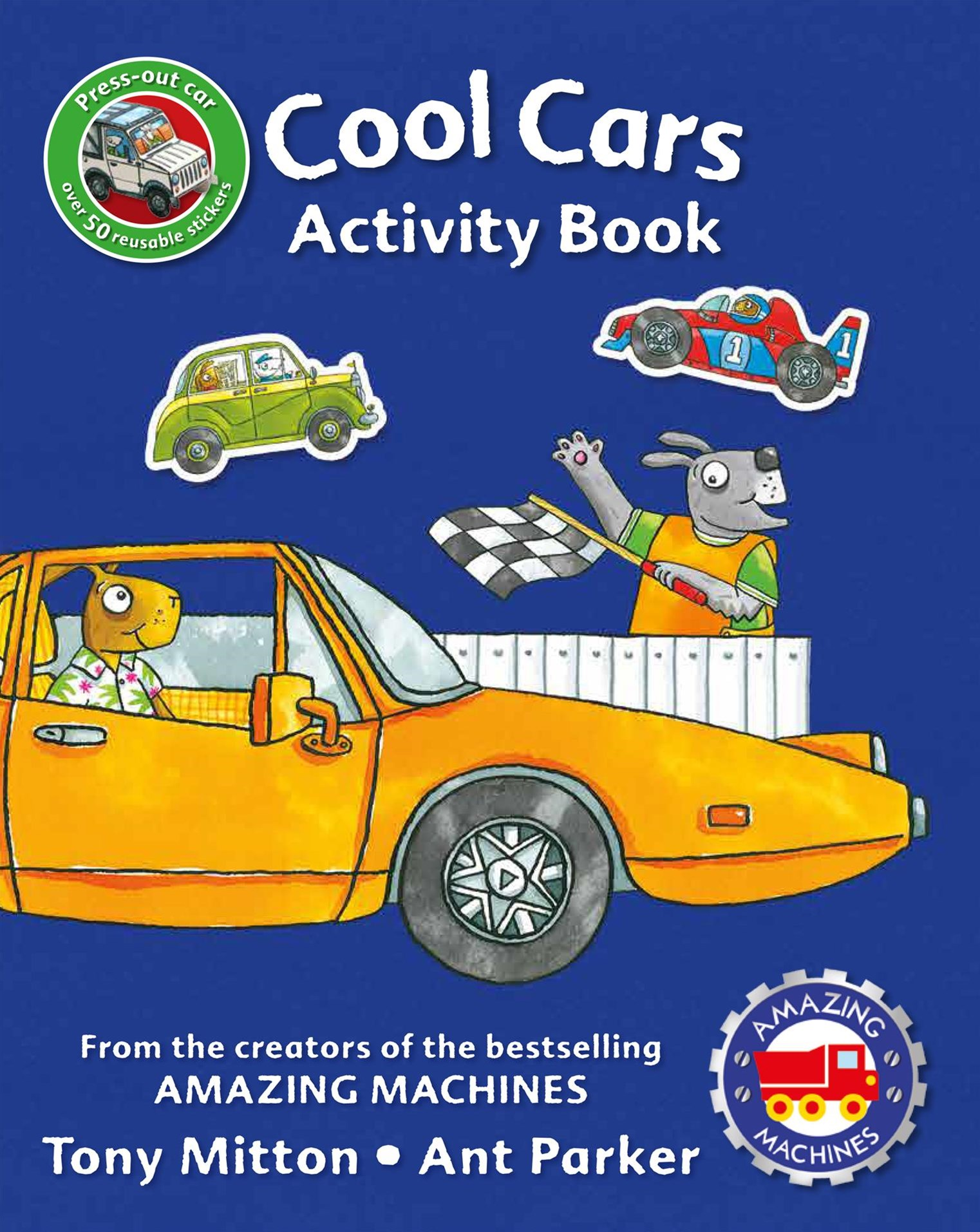 My Amazing Machines Cool Cars Activity Book