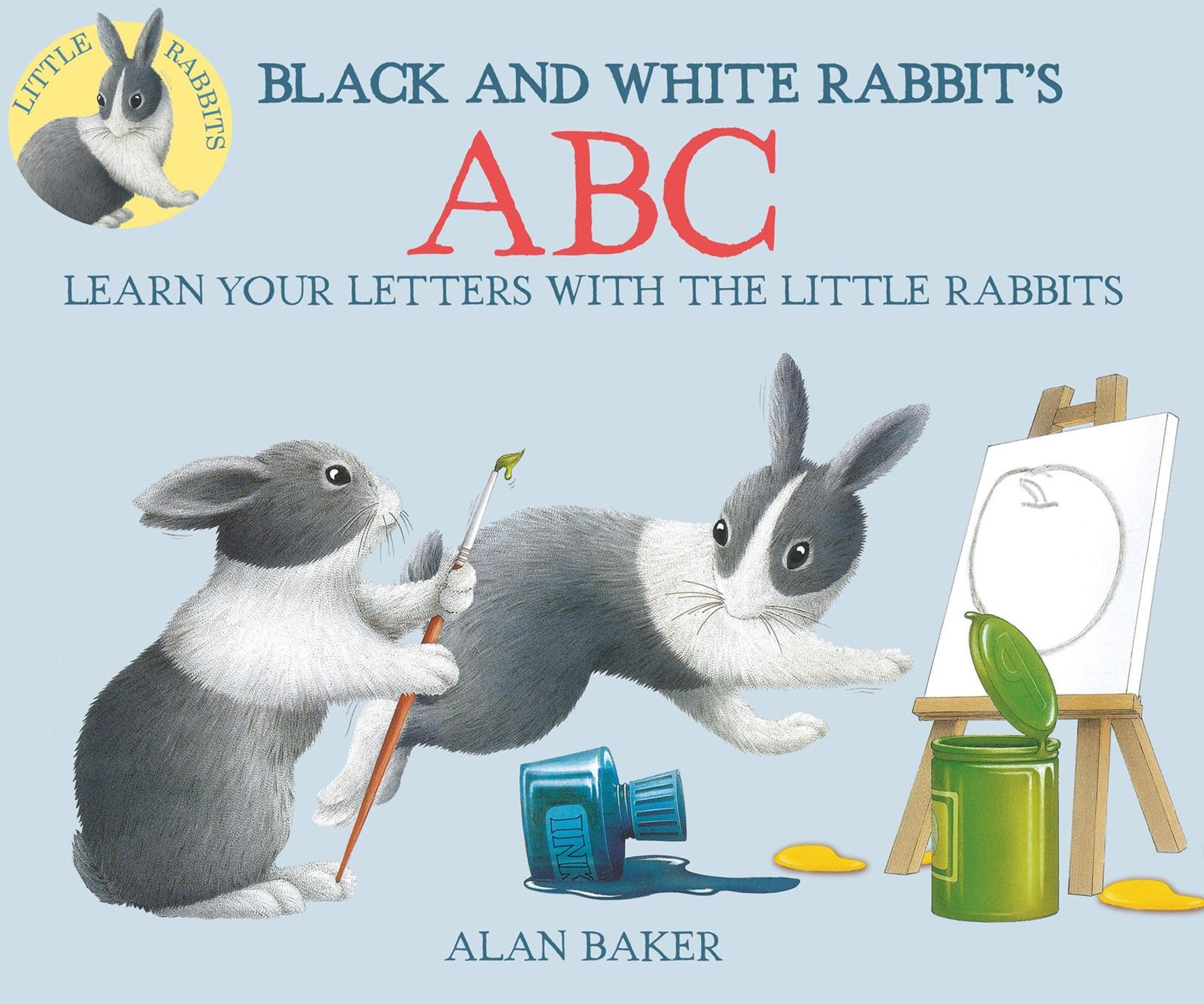 Black and White Rabbit's ABC