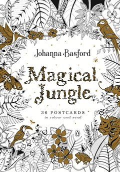 Magical Jungle 36 Postcards To Colour And Send