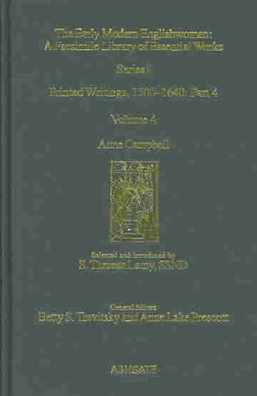 Anne Campbell: Printed Writings 1500-1640