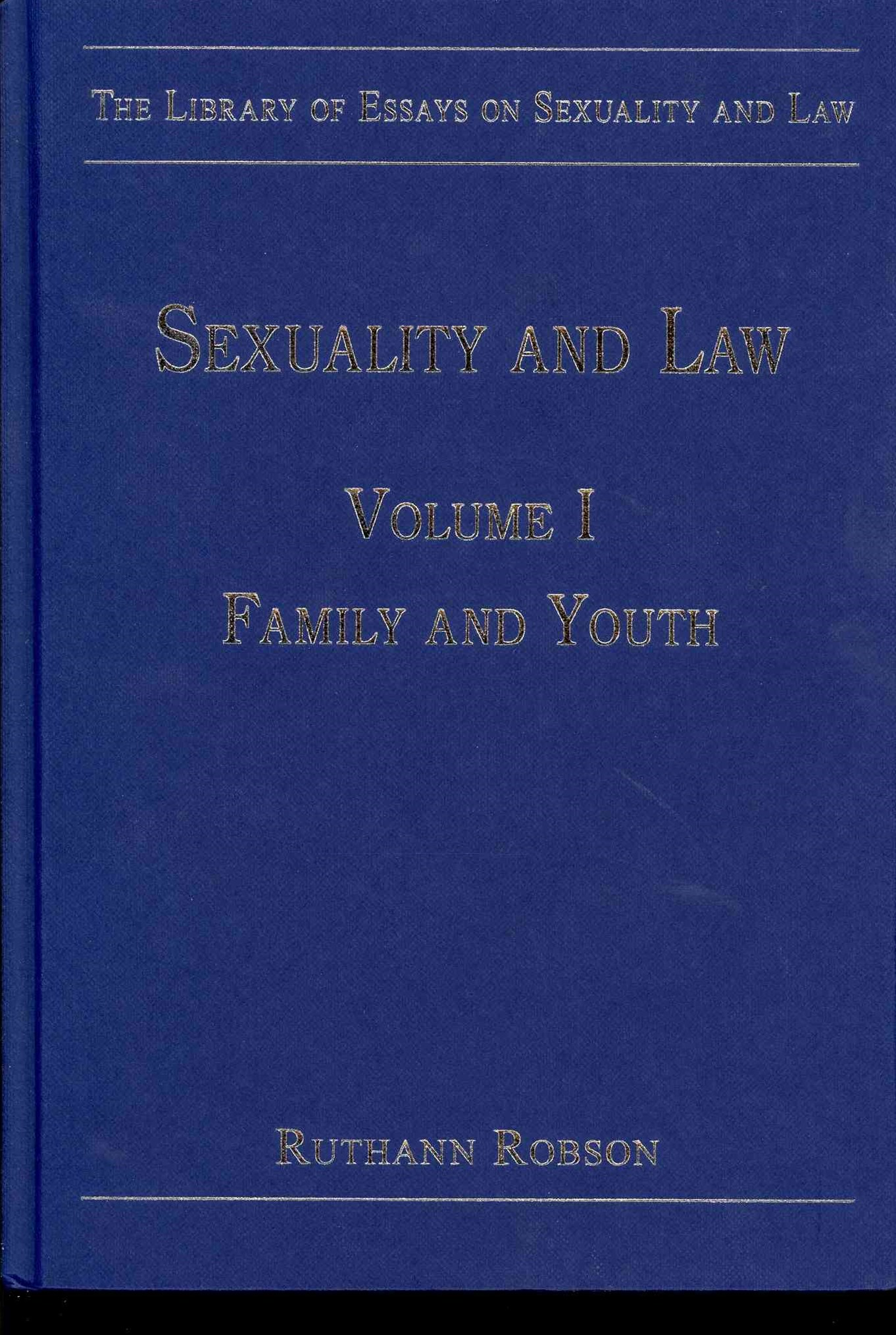 Sexuality and Law: Family and Youth