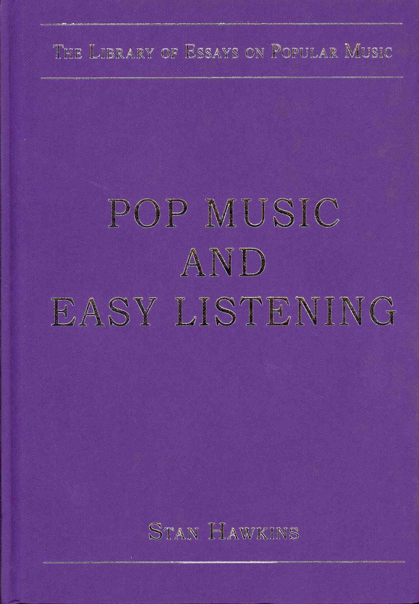 Pop Music and Easy Listening