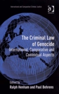 Criminal Law of Genocide