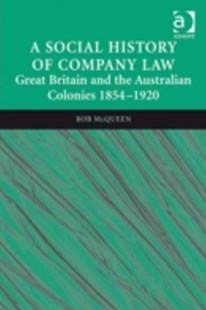 (ebook) Social History of Company Law - History European