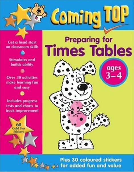Coming Top: Preparing for Times Tables 3-4