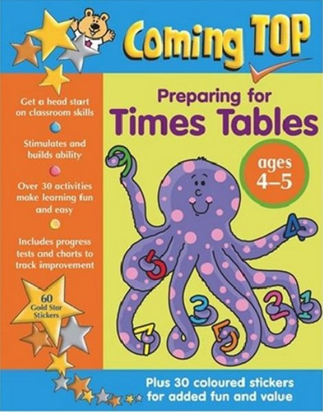 Coming Top: Preparing for Times Tables 4-5