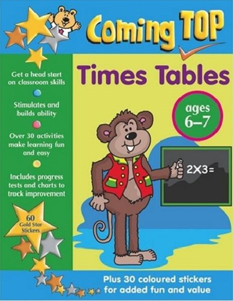 Coming Top: Times Table 6-7