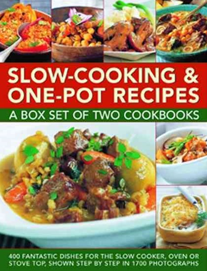 Slow-Cooking & One-Pot Recipes: A Box Set of Two Cookbooks