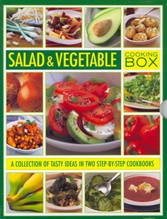 Salad and Vegetable Cooking Box by STEVEN WHEELER, Christine Ingram, Christine Ingram (9780754825388) - HardCover - Cooking Cooking Reference