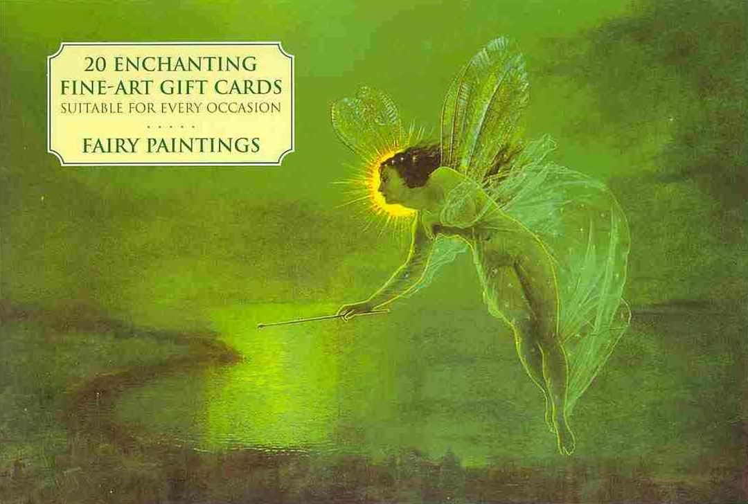 Card Box of 20 Notecards and Envelopes: Fairy Paintings