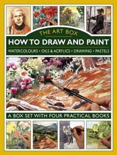 Art Box - How to Draw and Paint by HARRISON HAZEL (9780754830214) - HardCover - Art & Architecture Art Technique
