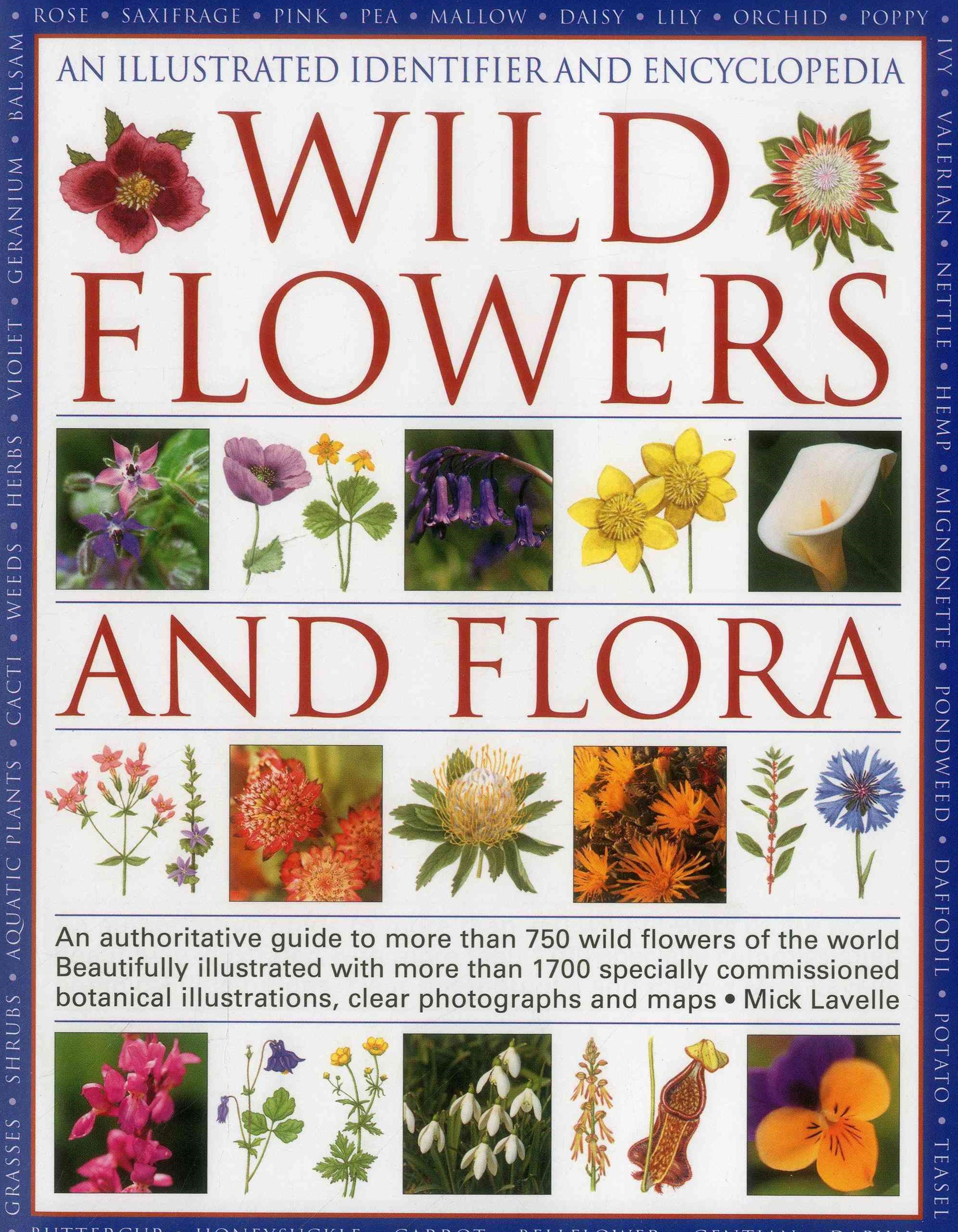 Illustrated Identifier and Encyclopedia: Wild Flowers and Flora