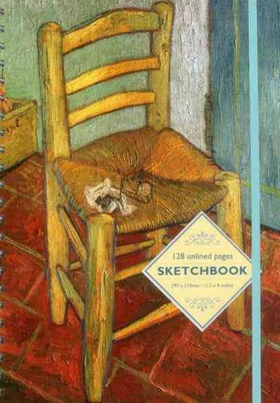 Sketchbook - Vincent's Chair: By Vincent van Gogh