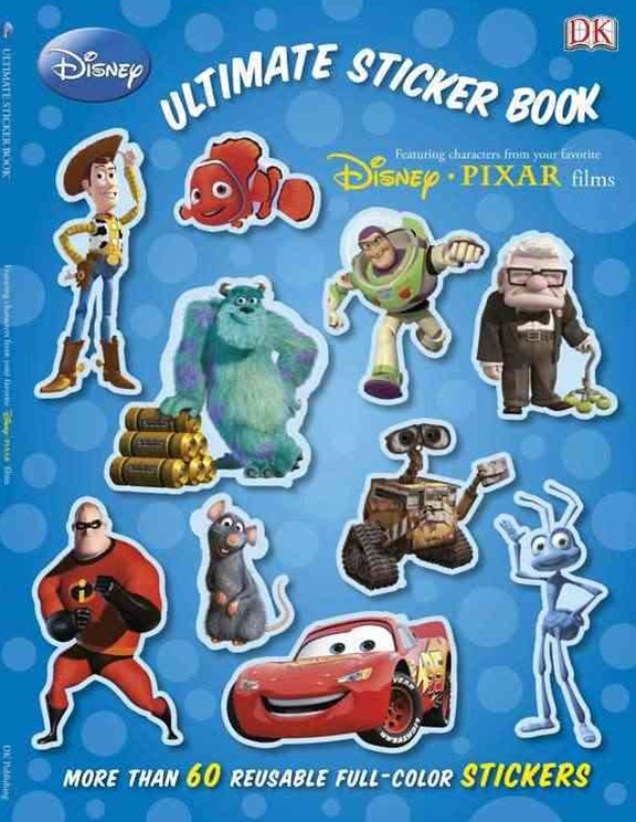 Disney Pixar: Ultimate Sticker Book