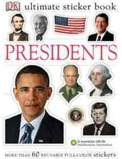 Ultimate Sticker Book - Presidents