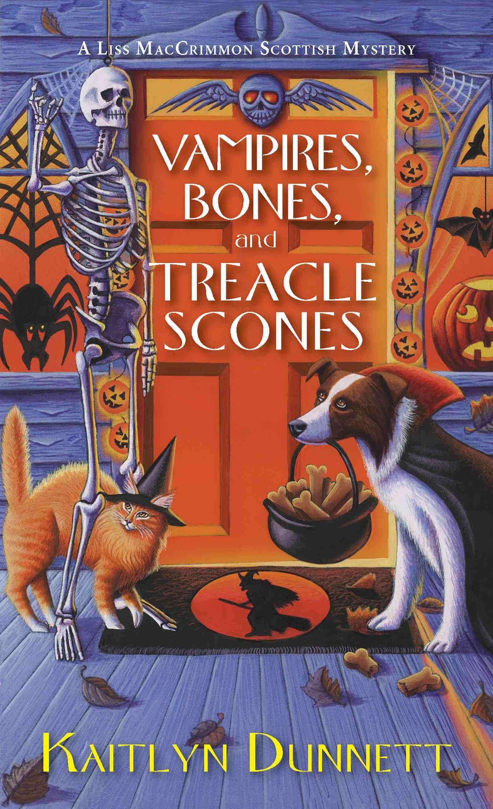 Vampires, Bones and Treacle Scones