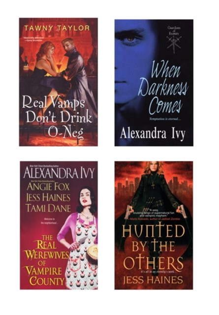 Vampire Bundle: The Real Werewives of Vampire County, When Darkness Comes, Real Vamps Don't Drink O-Neg, & Hunted by the Others