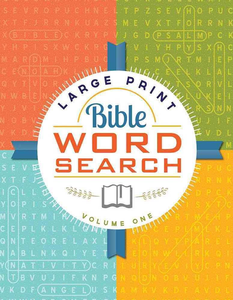 Large Print Bible Word Search Volume 1
