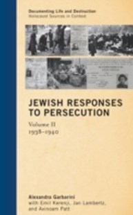 (ebook) Jewish Responses to Persecution - History European