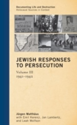 Jewish Responses to Persecution