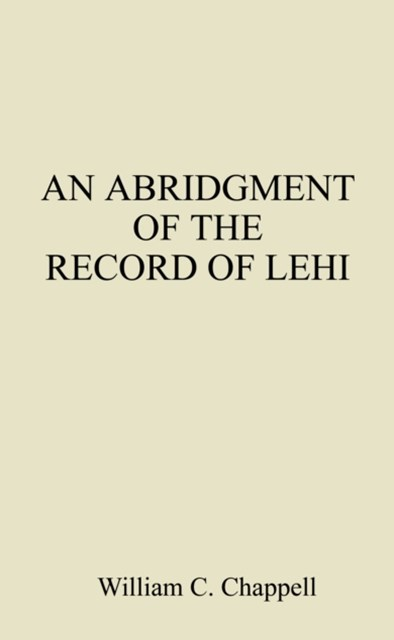 (ebook) Abridgment of the Record of Lehi