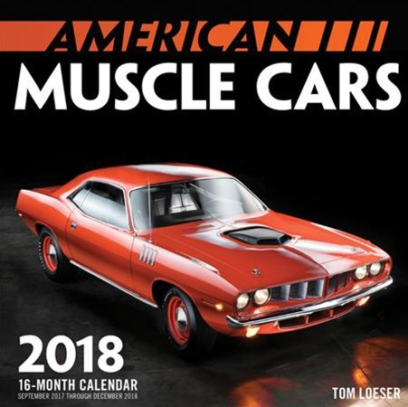 American Muscle Cars Mini 2018 calendar
