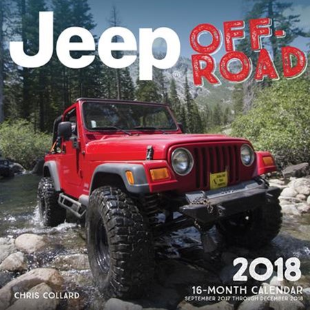 Jeep Off-Road 2018 calendar
