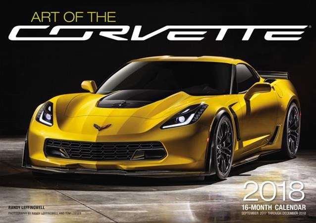 Art of the Corvette 2018 calendar