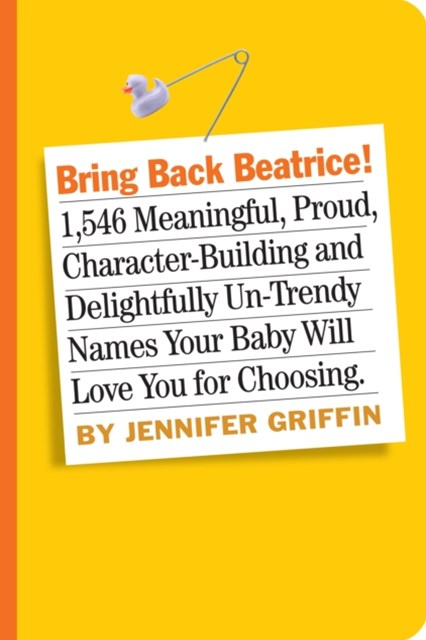 (ebook) Bring Back Beatrice!