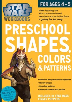 Star Wars Workbook - Preschool Shapes, Colors, and Patterns