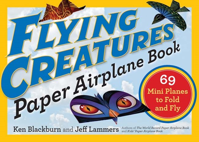 Flying Creatures Paper Airplane Book