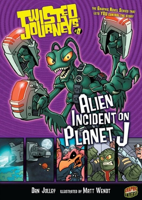 #08 Alien Incident on Planet J